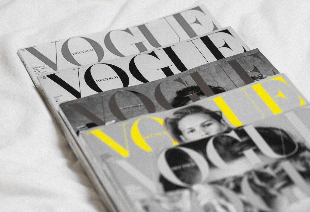 Brands like Vogue